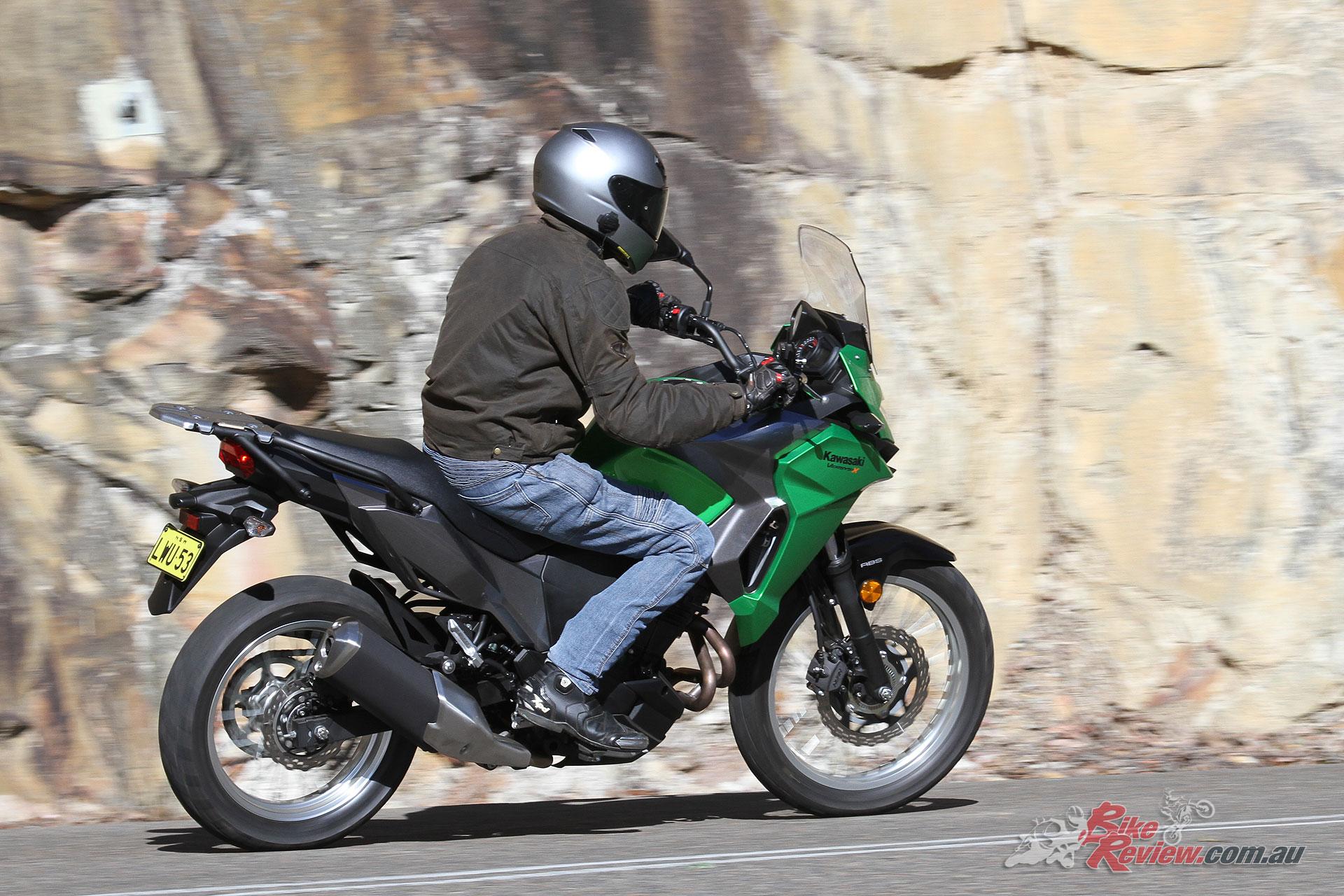 Kawasaki Versys Spoked Wheels