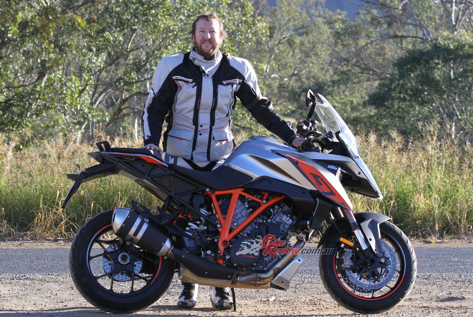 Video Review Ktm 1290 Super Duke Gt Bike Review