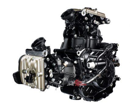 2017 Ducati Supersport engine