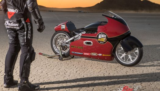 Indian and Lee Munro set new landspeed record