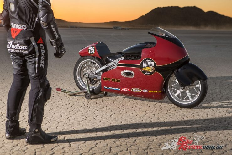 Lee Munro and the Indian Scout