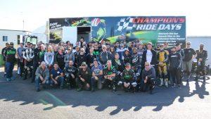 Kawasaki Team Green Australia QLD Ride Day