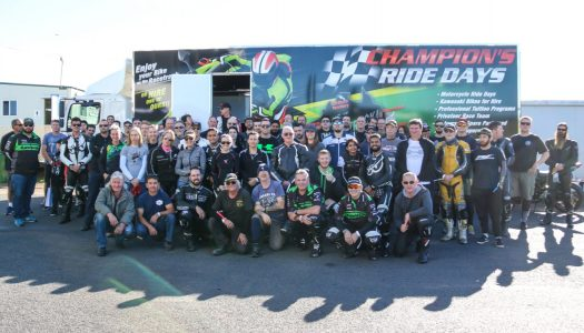 2017 Kawasaki Team Green Ride Days Off to a Rocketing Start