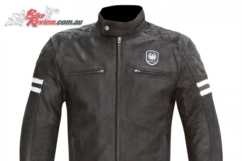 Merlin Hixon Leather Jacket - Black
