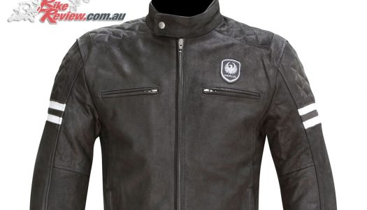 New Product: Merlin Hixon leather jacket
