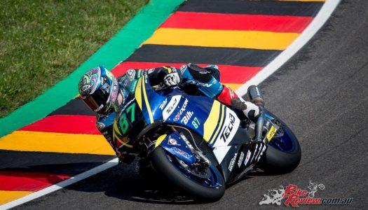 Remy Gardner equals Moto2 best at Sachsenring
