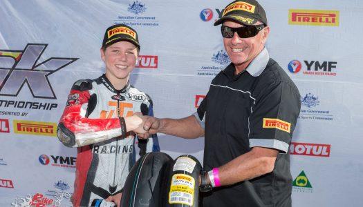 Van Eerde Wins Pirelli's 'Rider of the Round Award'