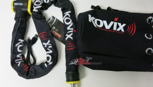 Product Review: KOVIX Alarmed Chain Lock KCL10-110