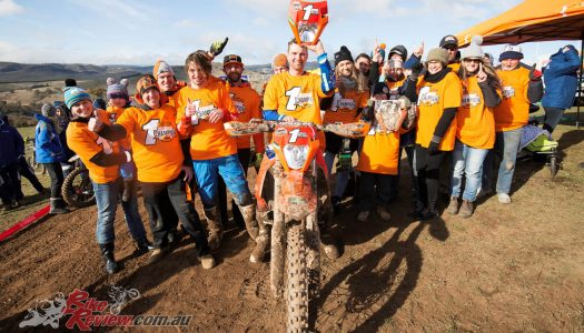 KTM's Milner Crowned 2017 AORC Champion