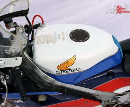 The RC30 included a handmade chassis