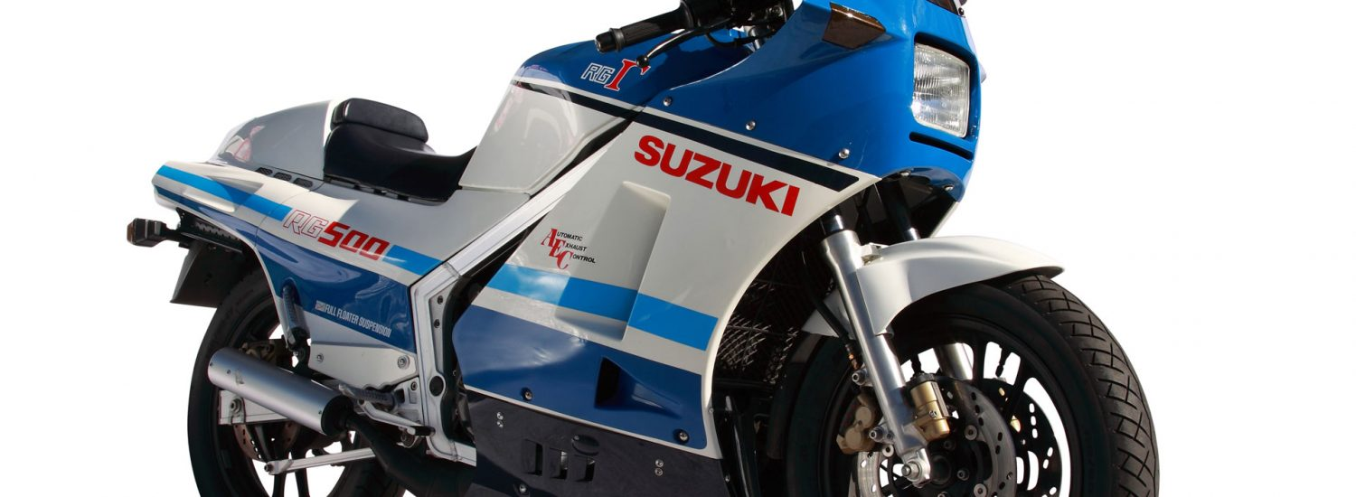 Suzuki's RG500 is one of those iconic two-strokes