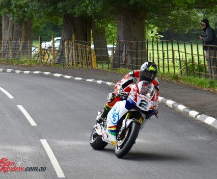 2017 Isle of Man TT Bruce Anstey Zero TT