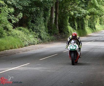 2017 Isle of Man TT Caallum Laidlaw Lightweight TT