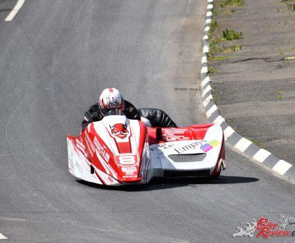 2017 Isle of Man TT Carl Bennett, Maxime Vasseur