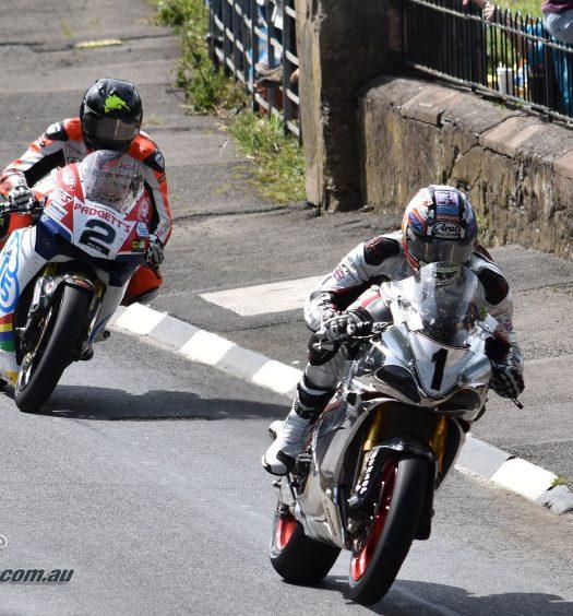 2017 Isle of Man TT Davo Johnson Bruce Anstey
