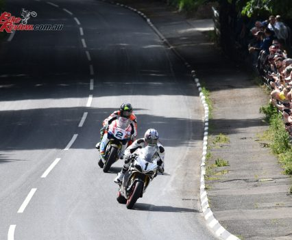 2017 Isle of Man TT Davo Johnson Bruce Anstey