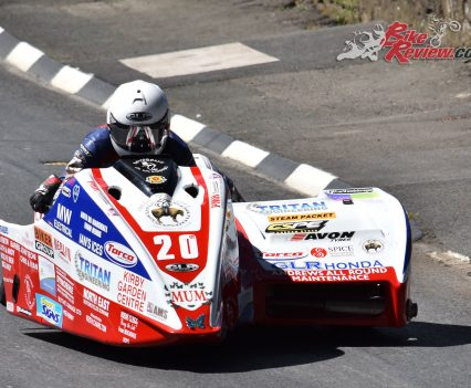 2017 Isle of Man TT Greg Lambert, Julie Canipa