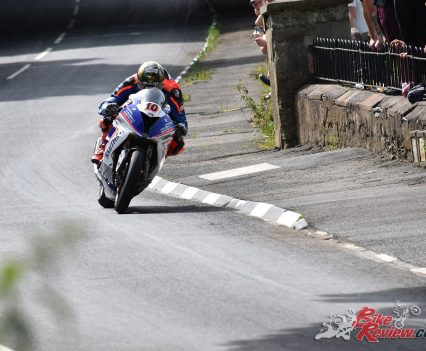 2017 Isle of Man TT Peter Hickman