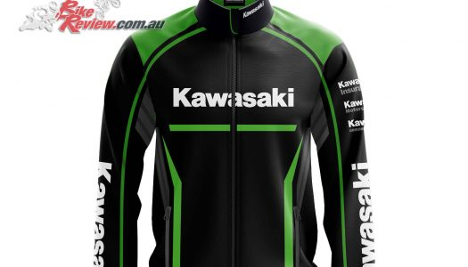 Kawasaki Team Jackets available through Kawasaki dealers
