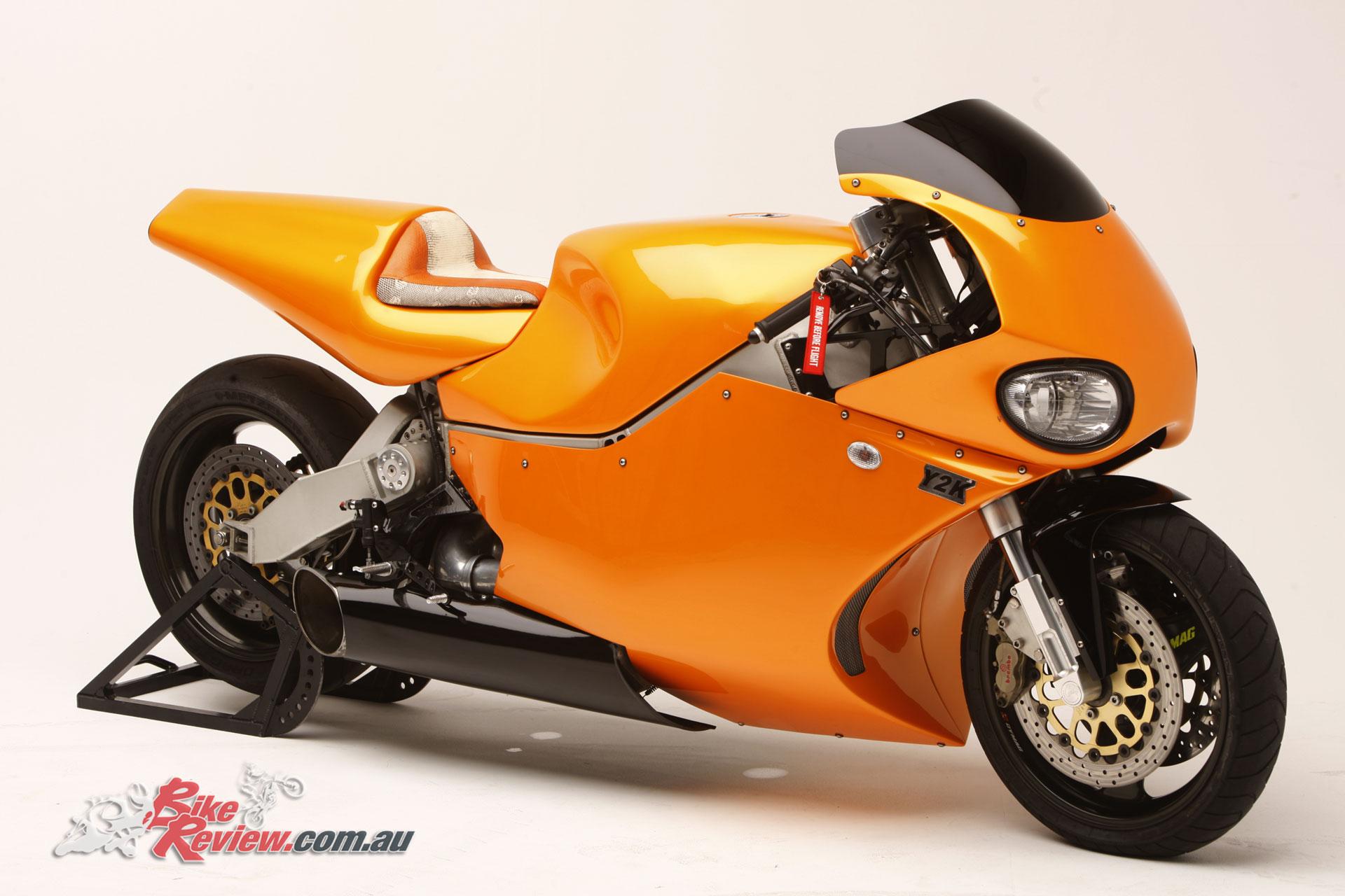 Custom Mtt Y2k Turbine Motorcycle 320hp 400km H Bike