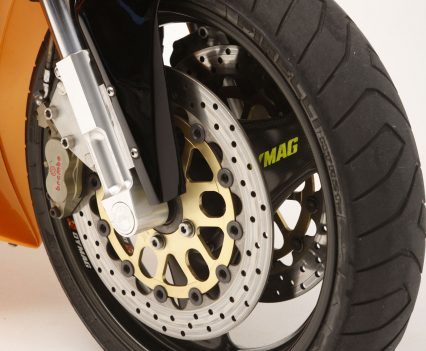 Only the Brembo calipers and Ceriani fork yolks are not made in America.