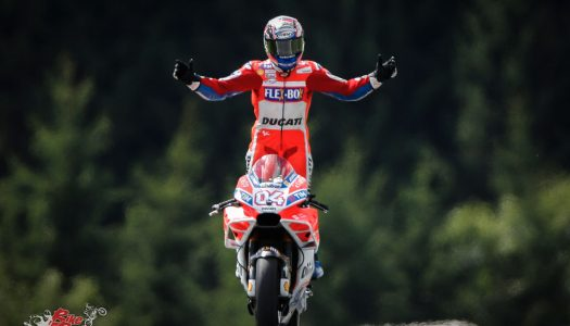 Dovizioso reigns at the Ring as Marquez second