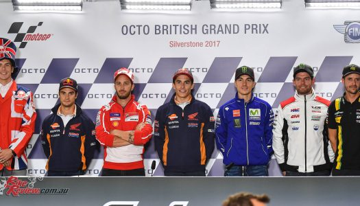 MotoGP riders ready for Silverstone