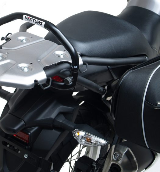 Ventura Grab Handle and Panniers on the Versys-X