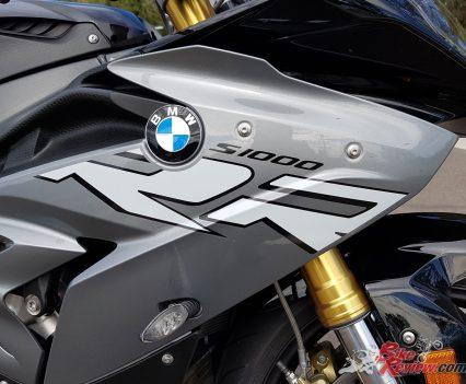 S 1000 RR Race version in Granit Grey Metallic