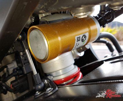 DDC rear Sachs shock.
