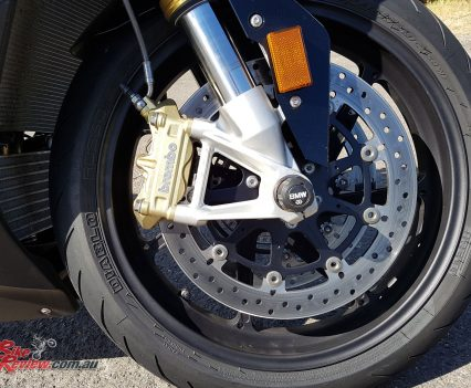 Brakes have always been a strong point, although our press bike did suffer from some lever fade.