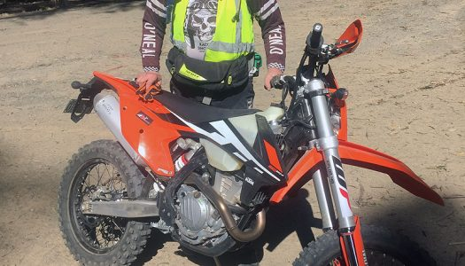 Staff Bike Update: KTM 350 EXC-F, Bar Mounts, BarkBusters & Bashplate