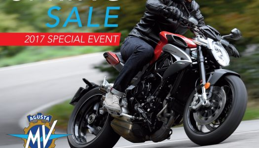 MV Agusta Spring Sale on till Sept 30