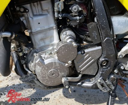 2018 Suzuki DR-Z400 liquid-cooled DOHC single-cylinder four-stroke