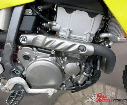 2018 DR-Z400E Engine
