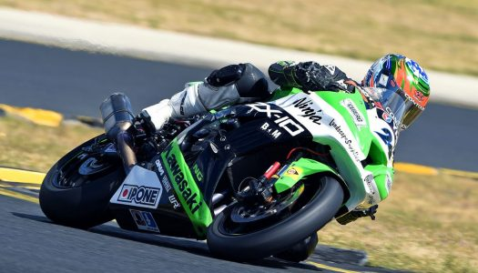 Kawasaki Ninja ZX-10R in the running following ASBK Round 6