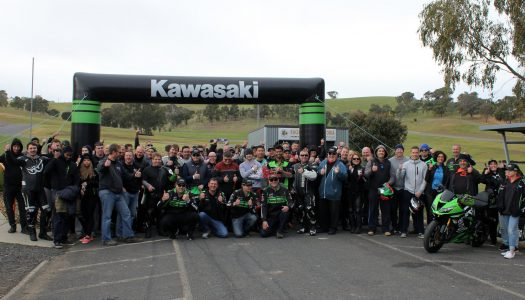Kawasaki Team Green Australia Broadford Day!