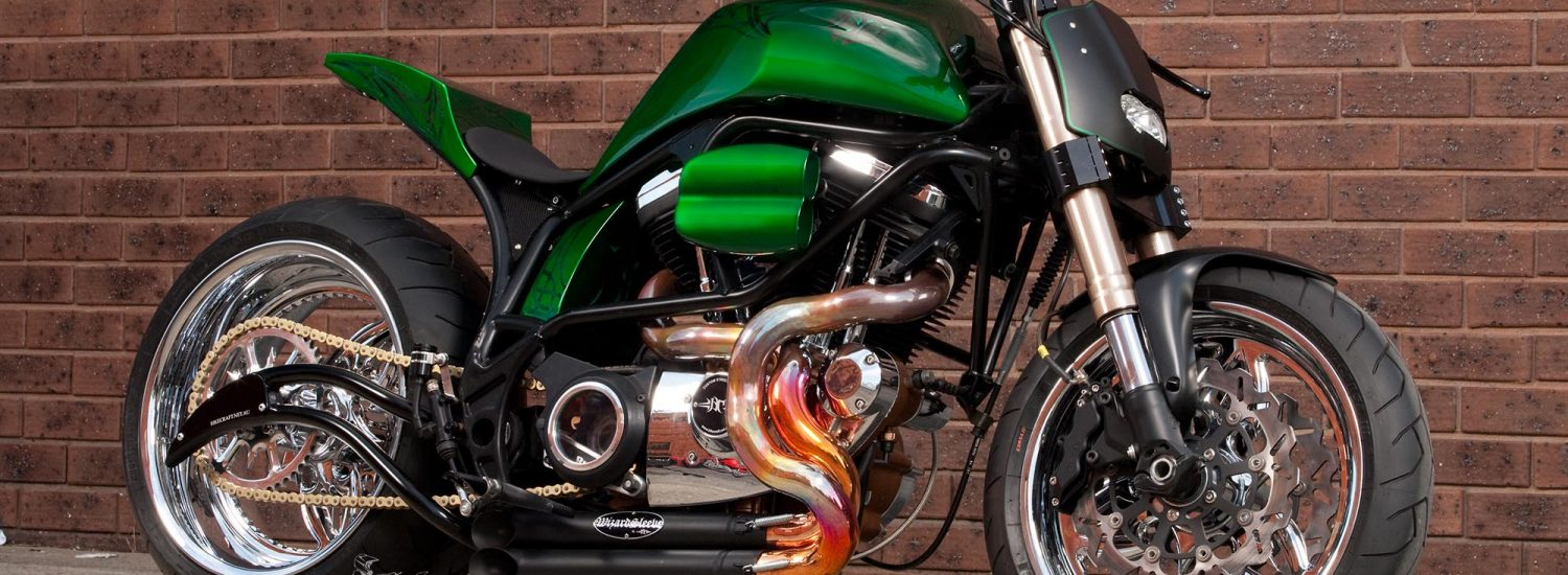 When it comes to creating a streetfighter or custom bike, there's no doubt bespoke components take it to a whole new level