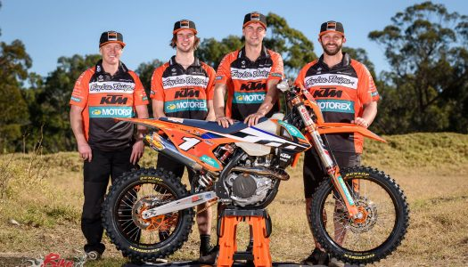 KTM re-signs Milner and Snodgrass for 2018 AORC