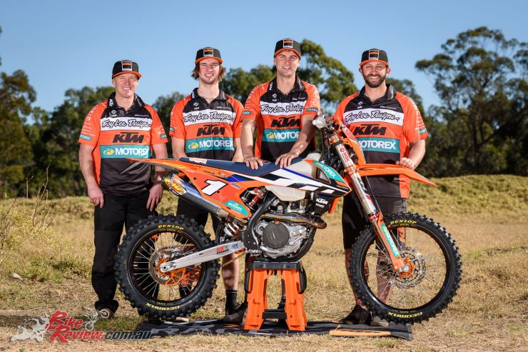 KTM re-signs Milner and Snodgrass for 2018 AORC season