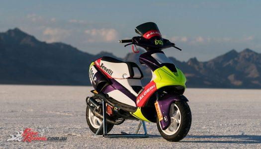 Pirelli, Moto Club Benelli, Malossi, set new scooter records