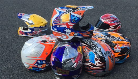 Priceless helmet display to show at Sydney Motorcycle Show