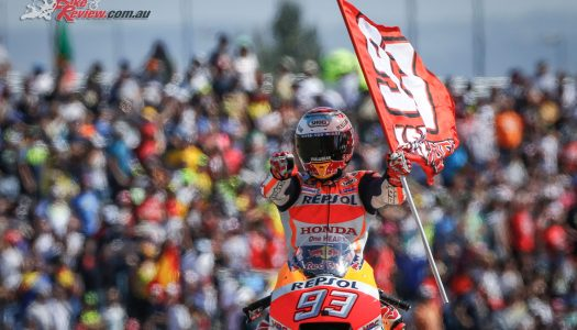 Marquez stamps his authority on Aragon