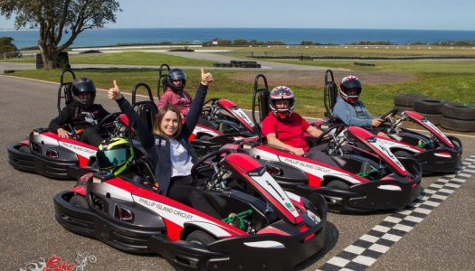 Jump into Phillip Island's new Go Karts with daily prizes to be won