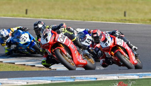 Herfoss 3rd, Staring 7th for the 2017 ASBK Championship