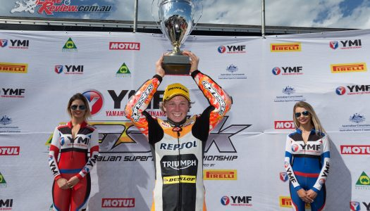 Chiodo claims the Motul Supersport PI Championship Title
