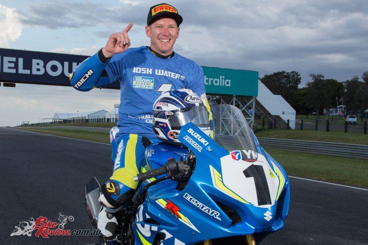 Josh Waters, 2017 YMI Superbike Champion - Round 7 - Phillip Island - Image by Andrew Gosling, TBG