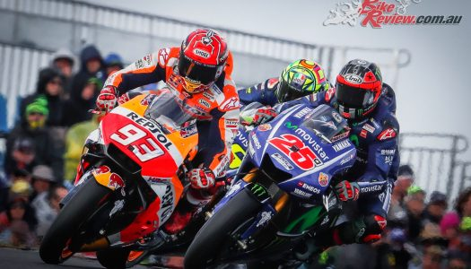 Marquez wins the fight for Phillip Island