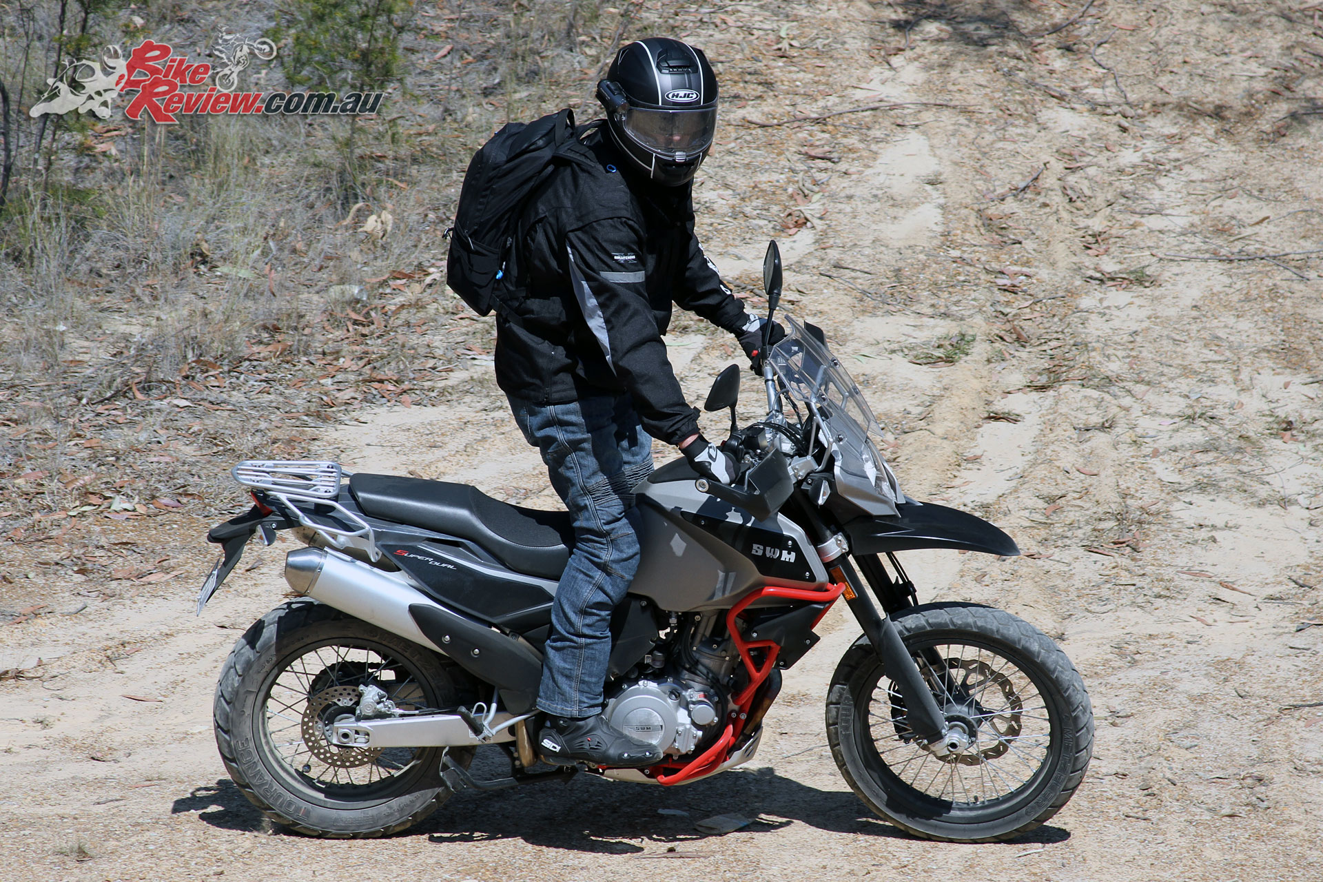 Video Review Swm 650 Superdual Bike Review