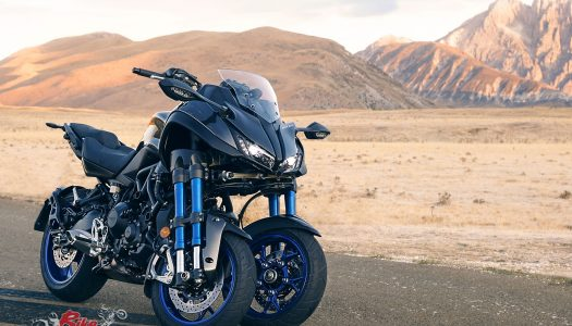Yamaha NIKEN 850 triple-cylinder, three-wheeler revealed